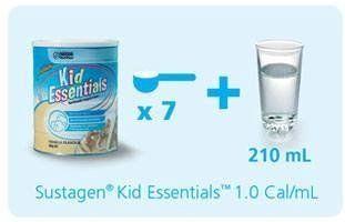 Cách pha sữa Kid Essentials Nestle Úc cho bé