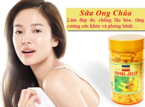 Viên sữa ong chúa giúp bạn có làn da đẹp mịn màng, tươi trẻ