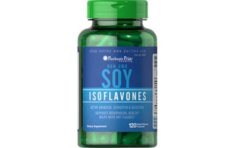 Viên uống mầm đậu nành estrogen Non-GMO Soy Isoflavones