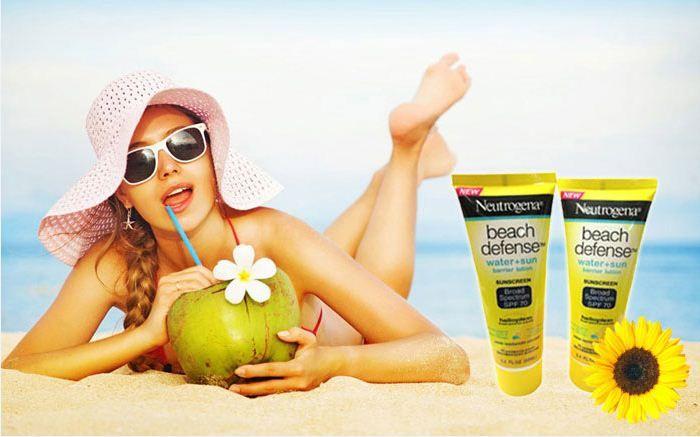 Kem chống nắng Neutrogena Broad Spectrum SPF 70 giúp bảo vệ da khỏi tác động của ánh nắng mặt trời