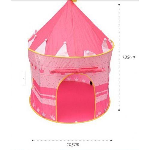 Lều có kích thước 105x135cm. mẹ có thể thoải mái chơi cùng bé
