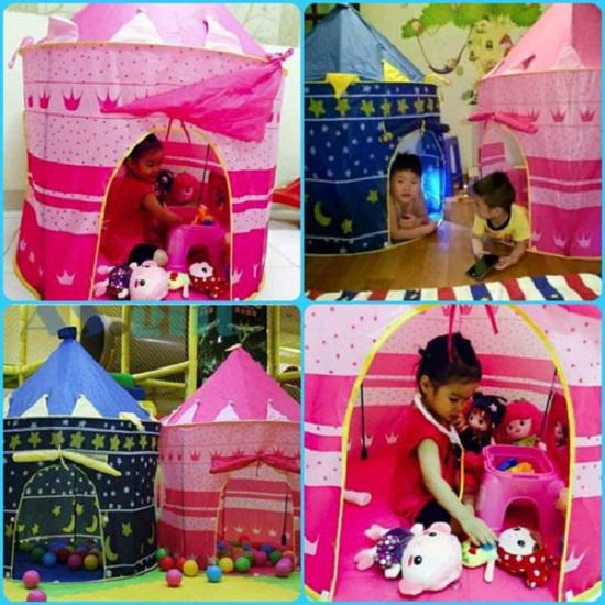 Lều bóng tạo không gian thoải mái cho bé vui chơi