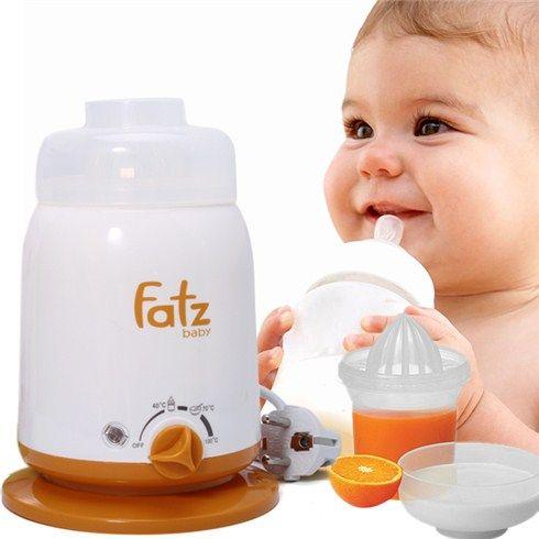 Máy hâm sữa Fatzbaby FB3002SL đảm bảo vệ sinh, an toàn cho bé