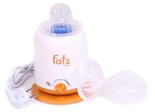 Máy hâm sữa Fatzbaby FB3002SL sử dụng 4 chức năng tiện lợi cho mẹ
