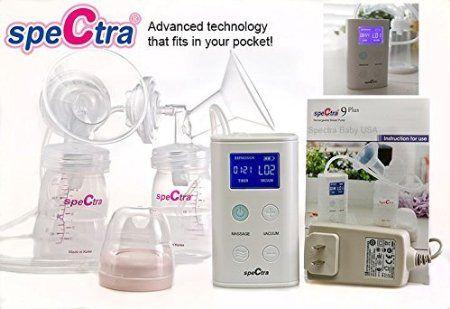 Máy hút sữa Spectra 9 Plus hút sữa nhanh, tiết kiệm thời gian