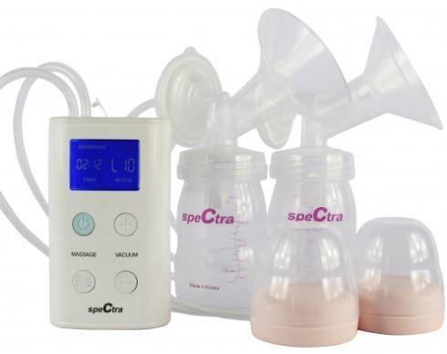 Máy hút sữa Spectra 9 Plus điện đôi giúp mẹ hút sữa nhanh