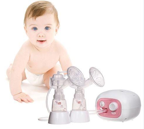 Máy hút sữa điện đôi Unimom Forte giúp mẹ hút sữa nhanh và nhiều sữa
