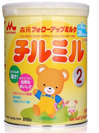 Sữa Morinaga số 2 cho trẻ từ 6-36 tháng