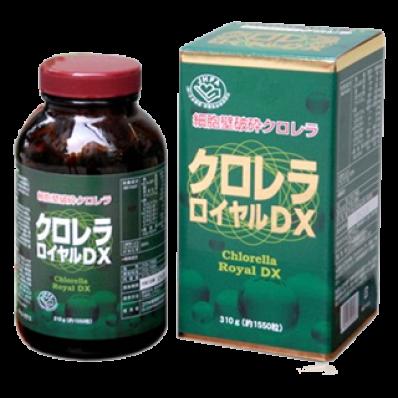 Tảo lục Chlorella Royal DX Nhật Bản