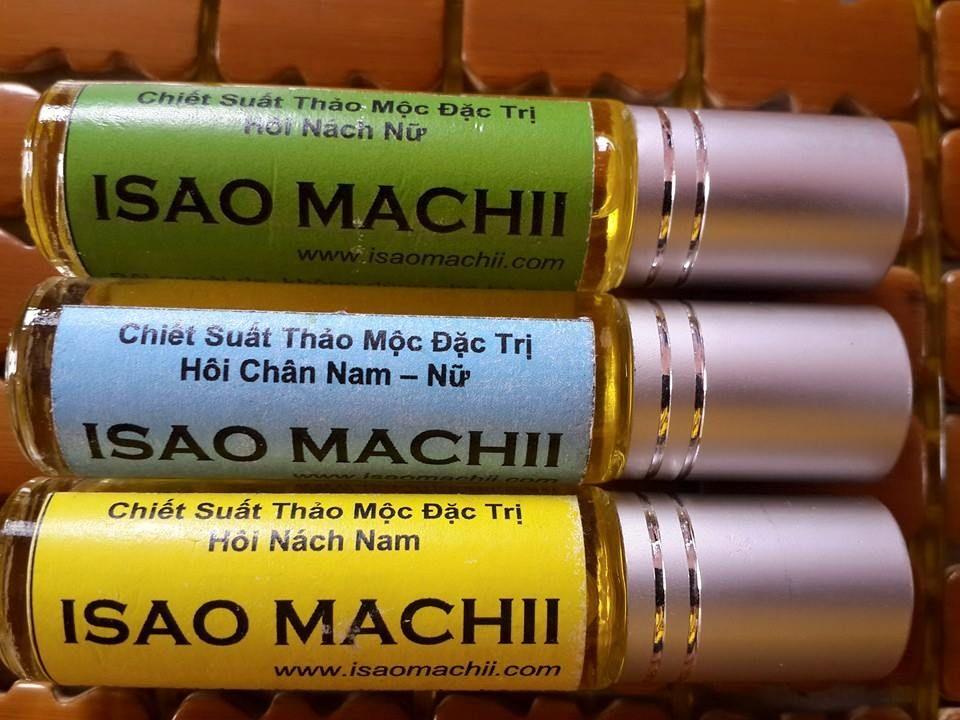 Sản phẩm Isao Machii đặc trị hôi nách, hôi chân ở cả nam và nữ