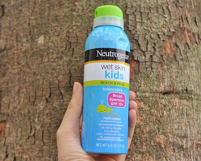 Neutrogena Wet Skin Kids siêu chống mồ hôi, không thấm nước