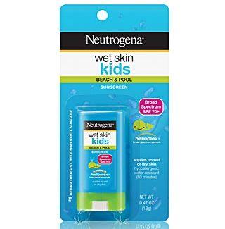 Neutrogena Wet Skin Kids SPF70 sẽ ngăn chặn những tác hại của tia UV, cho làn da bé luôn mềm, mịn, trắng sáng tự nhiên