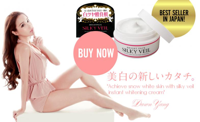 Kem Silky Veil trắng da dùng cho toàn thân, giảm tông màu sạm