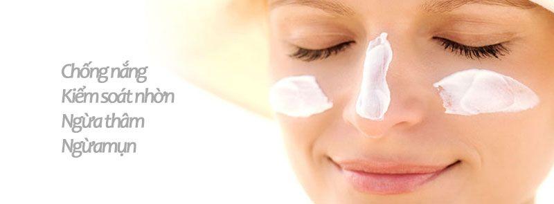 kem chống nắng Cetaphil Derma Control SPF30 có công dụng 3 trong 1