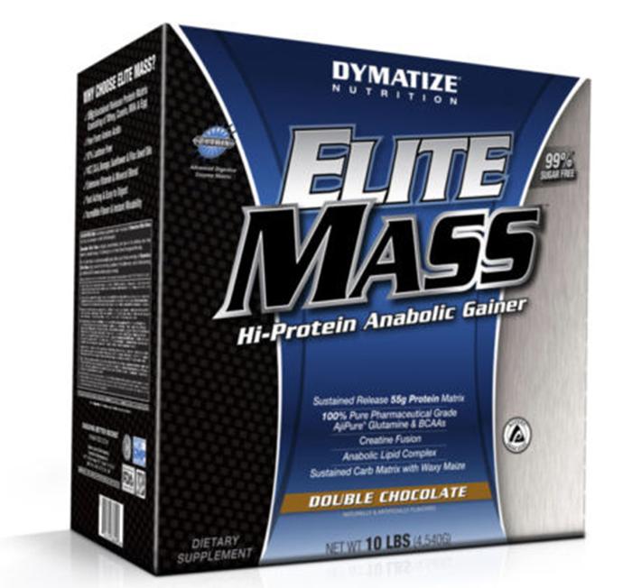 Elite mass gainer 10 lbs(4.5kg) tăng cân tăng cơ