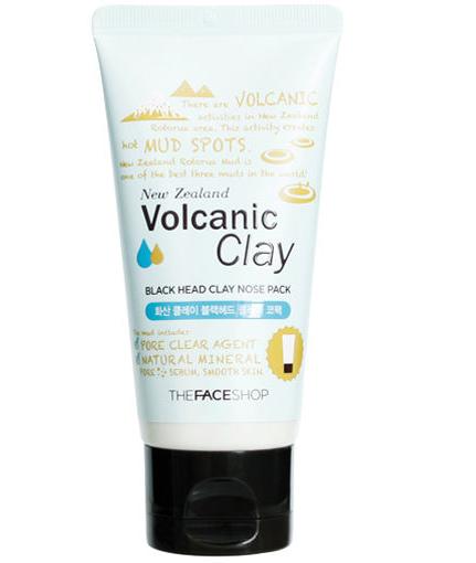 Gel lột mụn đầu đen Volcanic Clay TheFaceShop 50g