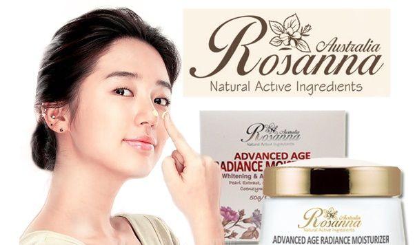 Kem Rosanna có tác dụng vượt trội giúp cải thiện sắc tố da đen sạm, đồng thời cải thiện nếp nhăn cho da láng mượt