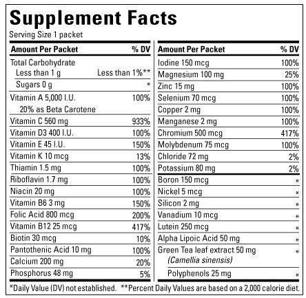Vitamin Nature Made Diabetes Health Pack là sự kết hợp hoàn chỉnh của các loại vitamin, khoáng chất thiết yếu, dành riêng cho người bị tiểu đường