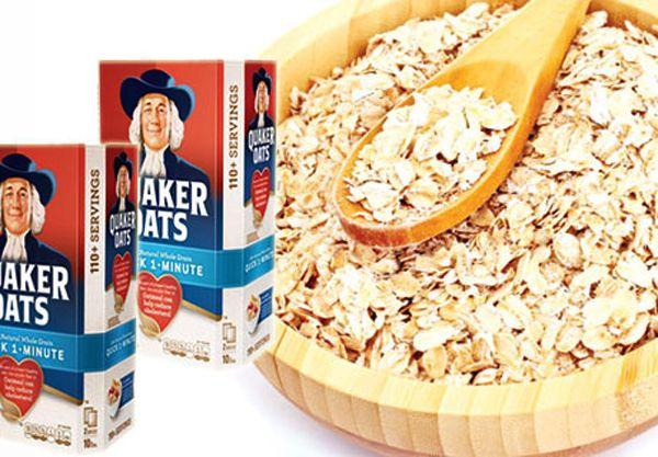 Bột yến mạch Quaker nguyên chất - Ngũ cốc vàng cho sức khỏe