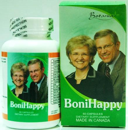 BoniHappy - Hỗ trợ điều trị chứng mất ngủ hiệu quả (60 viên)