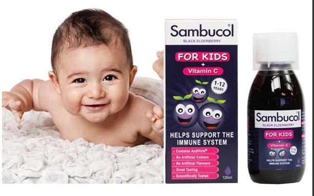 Siro Sambucol for Kids có tốt không?