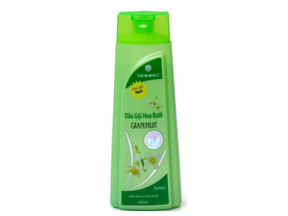 Dầu Gội Bưởi Thorakao - Tinh dầu hoa và vỏ bưởi, cho tóc mềm mại óng mượt