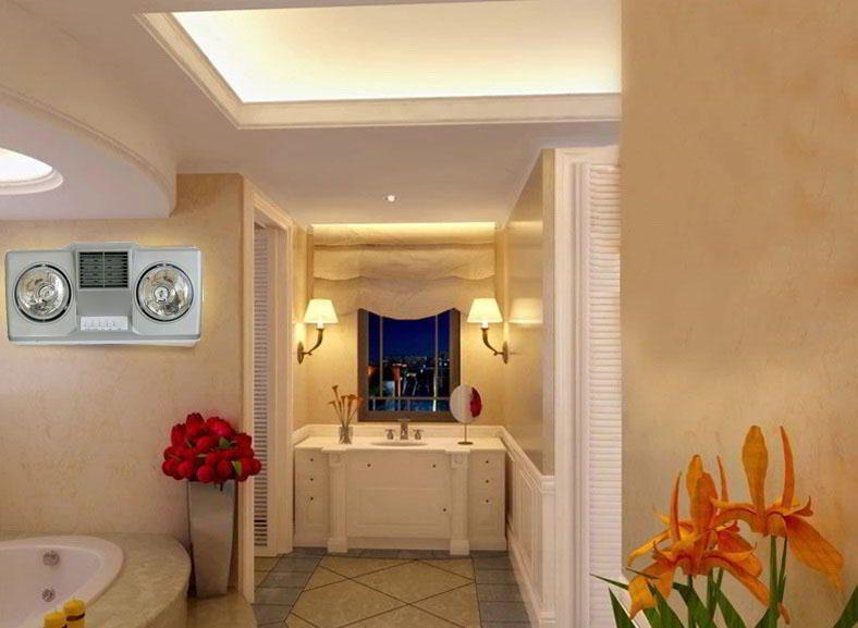 Đèn sưởi nhà tắm Hans còn có chức năng thổi gió nóng, cực kỳ hữu dụng trong những ngày nhiệt độ giảm mạnh