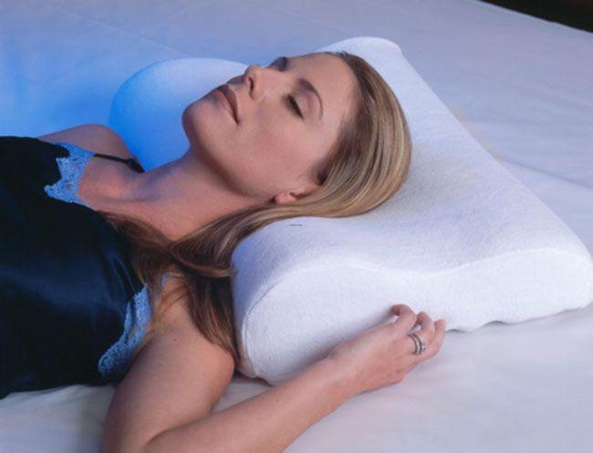 Gối chống ngáy Memory Pillow cho giấc ngủ thoải mái