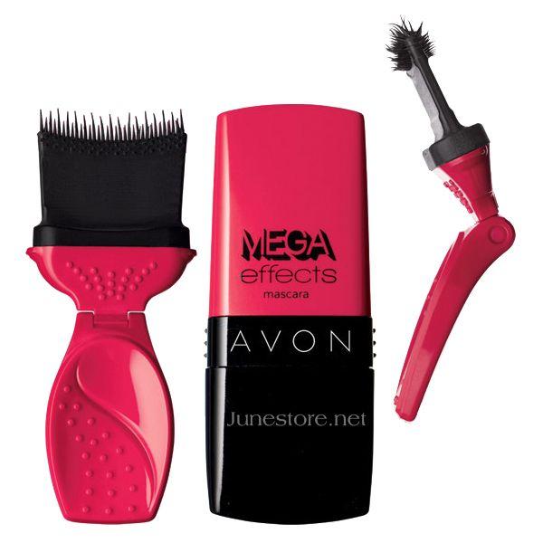 Mascara Avon Mega Effects dày mi, lâu trôi