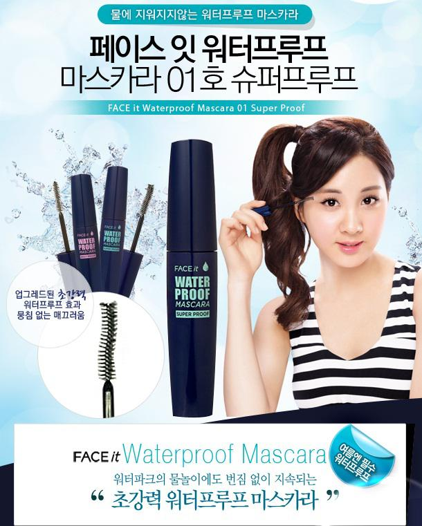 Mascara The Face Shop Face it Waterproof
