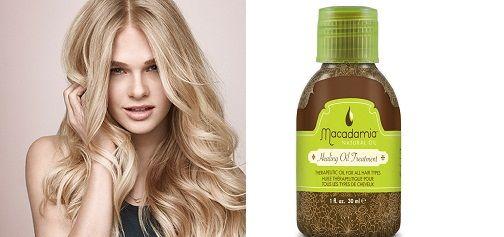 Tinh dầu dưỡng tóc Macadamia dưỡng tóc mềm mượt tối đa, dễ vào nếp và óng ả, bóng khỏe