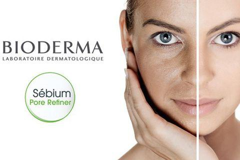 Kem se khít lỗ chân lông Bioderma ngăn không cho lỗ chân lông nở rộng, cải thiện kết cấu da và làm chậm quá trình lão hoá