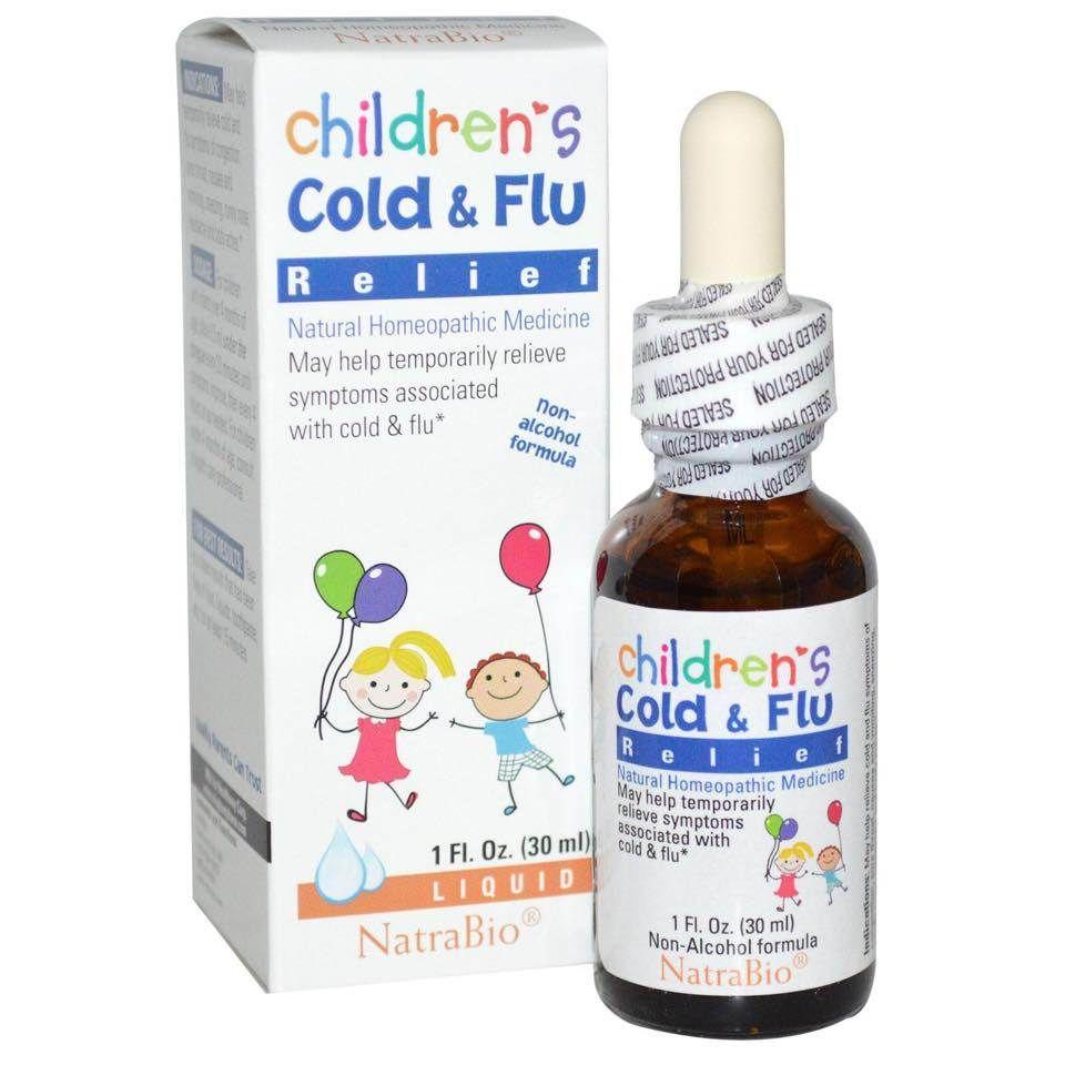 Siro trị cảm cúm cho bé Cold & Flu của Mỹ