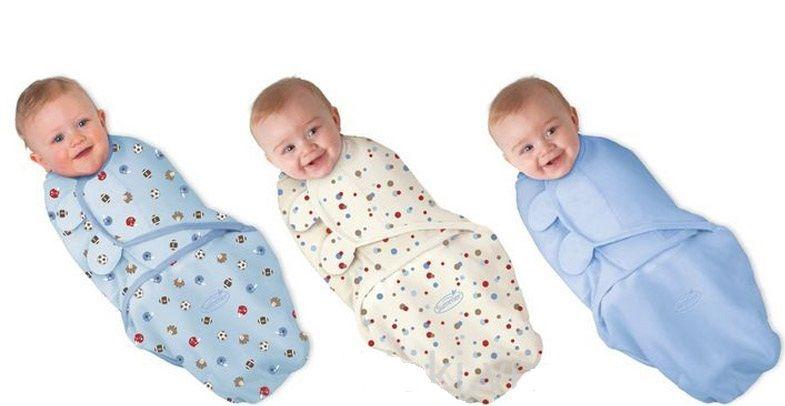 Túi ngủ cho bé Summer Infant giúp ấm áp, thoải mái với đôi cánh mềm, ôm sát