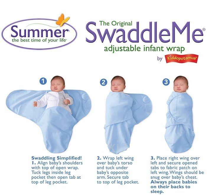 Cách dùng túi ngủ cho bé