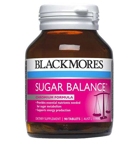 Viên cân bằng đường huyết Blackmores Sugar balance 90 viên