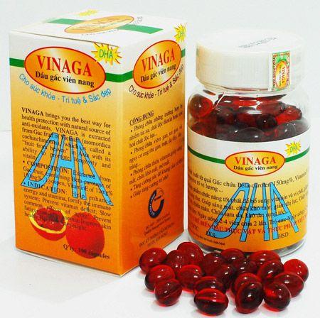 Viên nang dầu gấc VINAGA-DHA (100 viên)