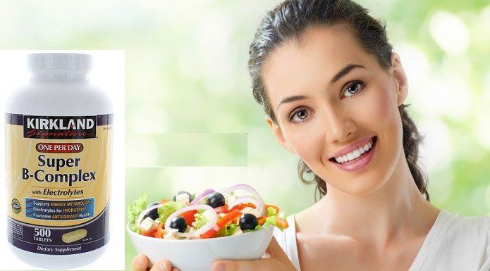Super B-Complex là sự kết hợp các loại vitamin B cần thiết hỗ trợ lẫn nhau giúp sản sinh ra năng lượng