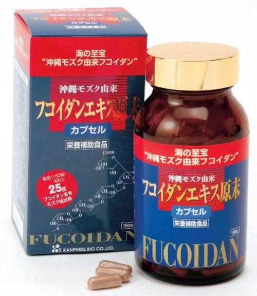 Viên uống Fucoidan Kanehide Bio của Nhật