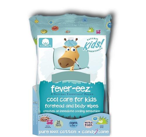 Giấy lau hạ sốt Natural Essentials cho bé từ 3 tháng trở lên