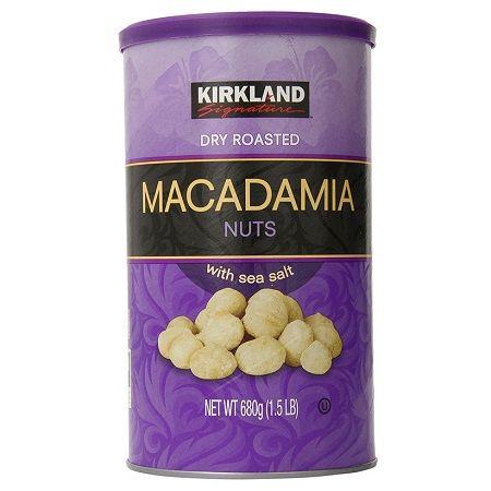 Hạt Macadamia Kirkland hộp 680g của Mỹ