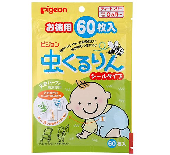 Miếng dán chống muỗi Pigeon của Nhật