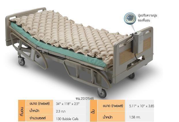 Nệm chống loét giúp cho người già, người bệnh nằm giường lâu ngày có thể nằm thoải mái, tránh nguy cơ bị loét