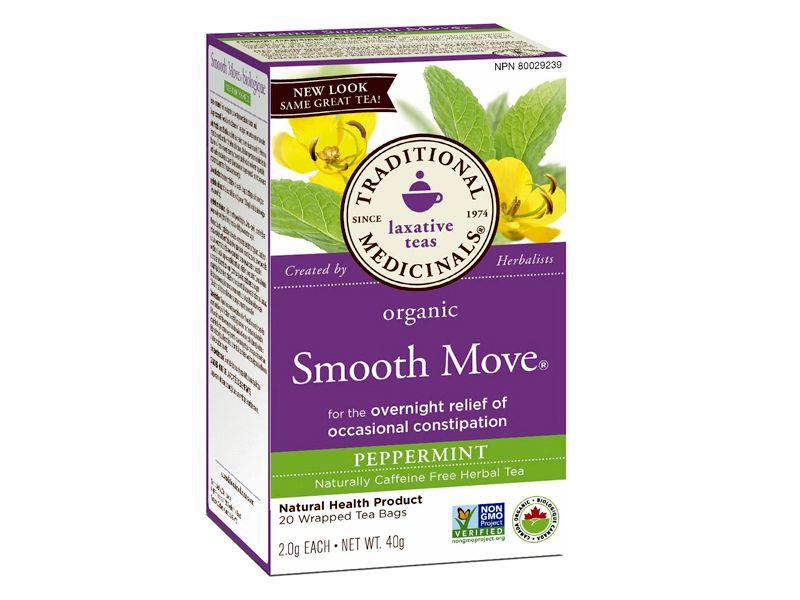Trà nhuận tràng, giảm táo bón Organic Smooth Move