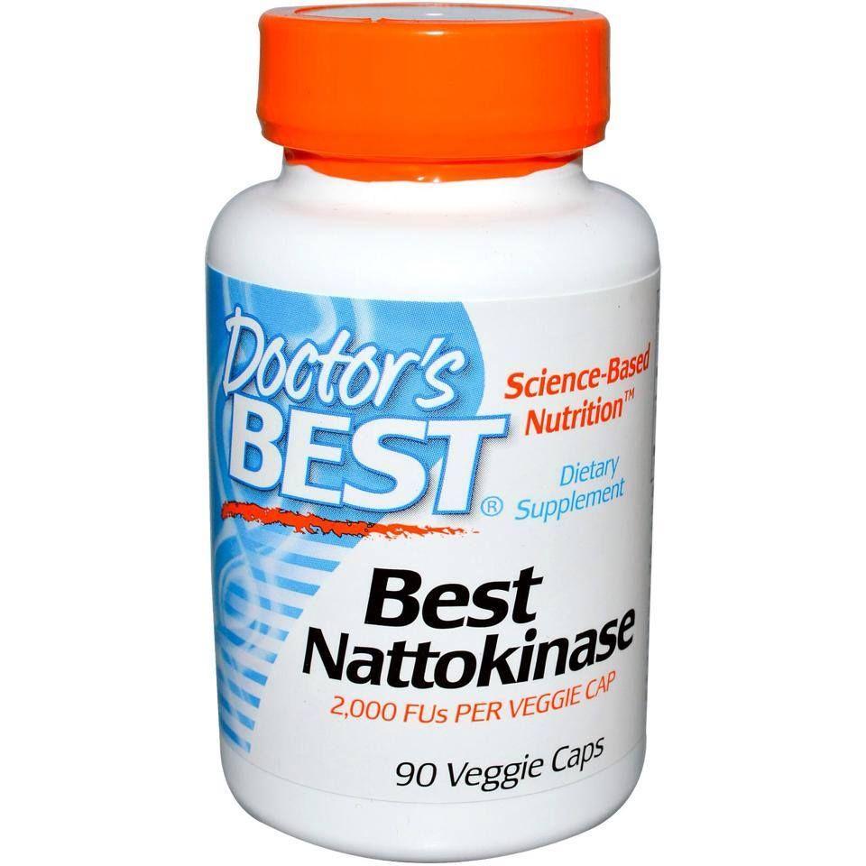 Viên uống Doctor's Best Nattokinase bổ tim mạch, ngừa đột quỵ