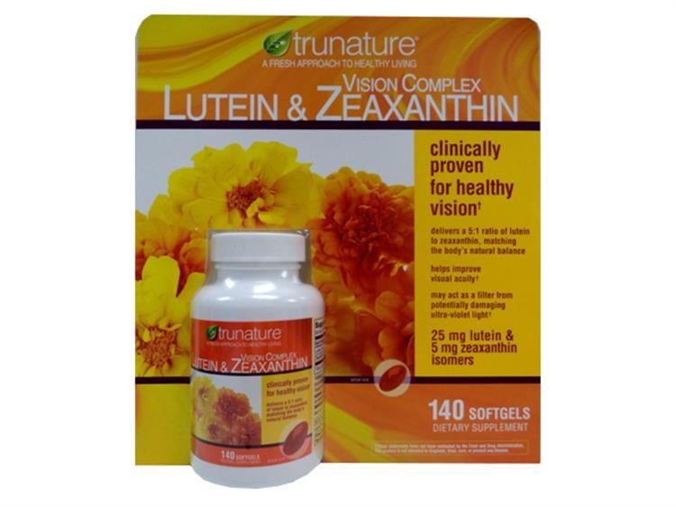 Viên uống sáng mắt Trunature Lutein & Zeaxanthin 140 Viên