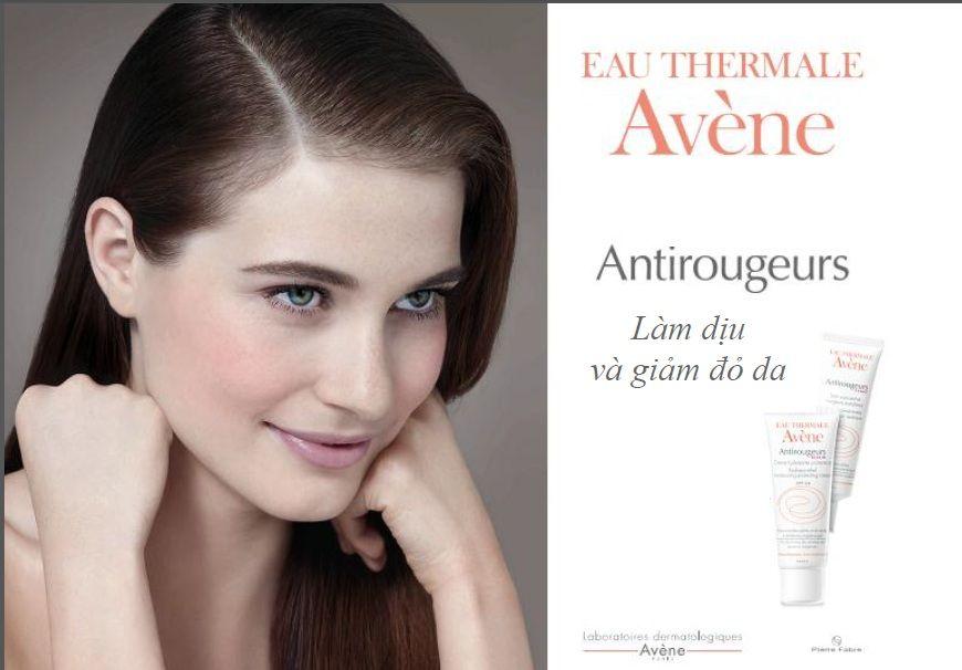 Kem dưỡng ẩm Avène Antirougeurs Jour làm dịu da kích ứng, dễ ửng đỏ