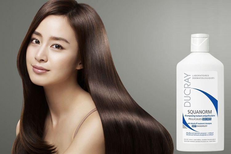Dầu gội Ducray Squanorm Shampoo cung cấp dưỡng chất giúp nuôi dưỡng và cải thiện bề mặt da đầu, ngăn ngừa rụng tóc