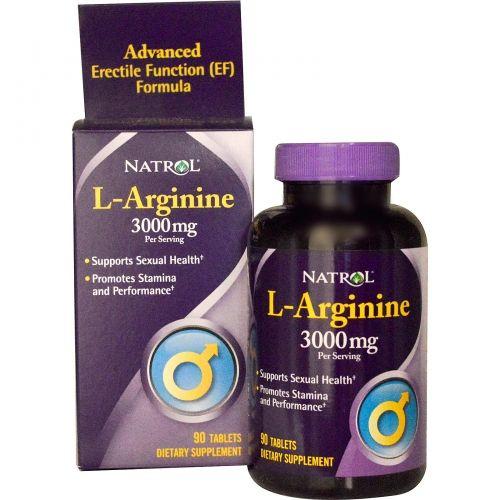 L-Arginine 3000 mg tăng cường sinh lý nam của Mỹ