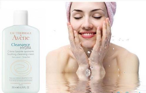 Sữa rửa mặt cho da khô kích ứng Avene Cleanance Hydra